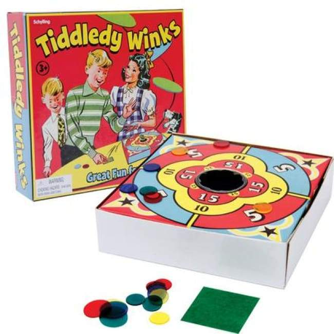 Tiddledy Winks Game Toys $9.99