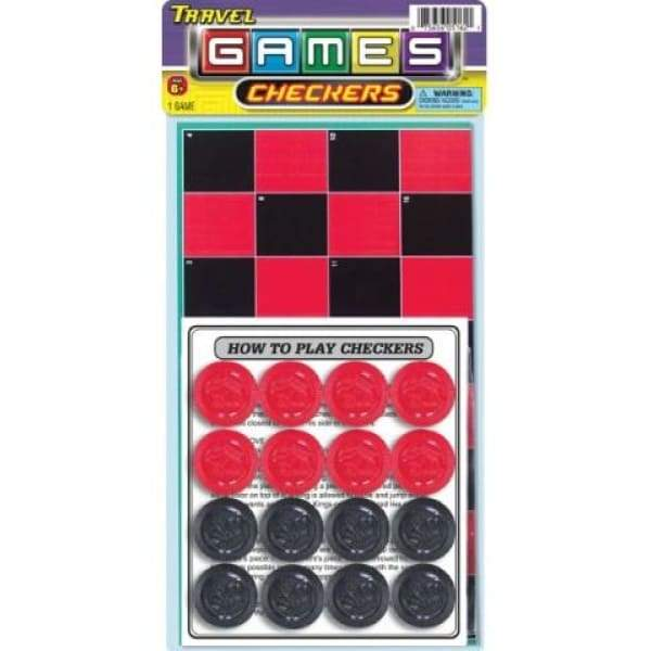 Trave Checkes Game Toys $6.99