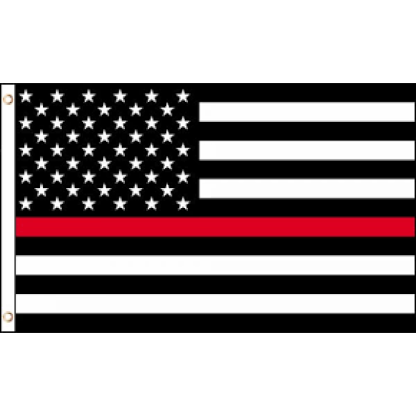 USA Thin Red Line Flag 3x5 General Merchandise $12.99