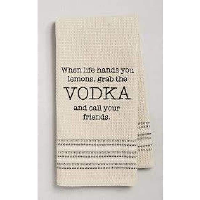 Vodka Dishtowel Novelty Gifts $12.99