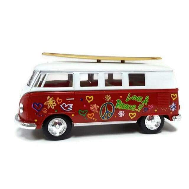 Volkswagen Classical Bus with Surfboard Toys $12.99