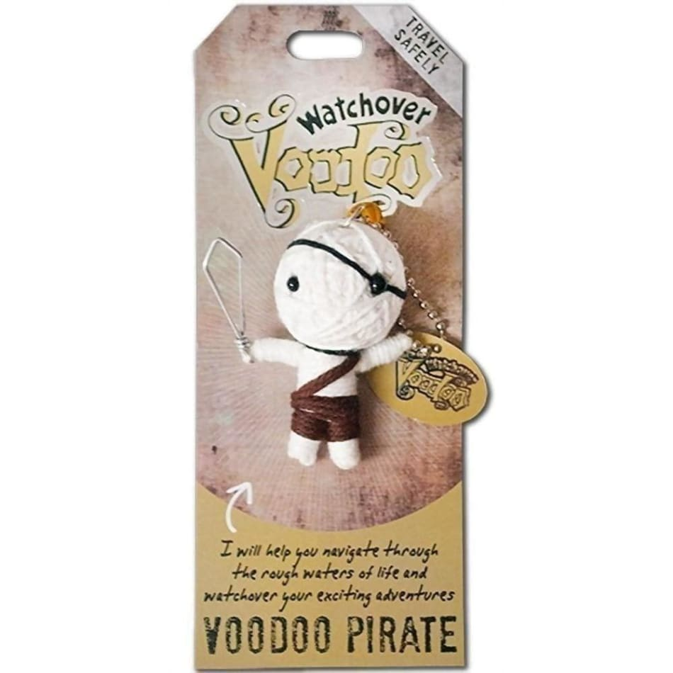 Voodoo Pirate Watchover Doll Gifts $10.99