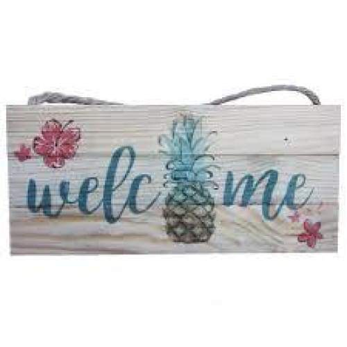 Welcome Wood Sign Home & Decor $12.99