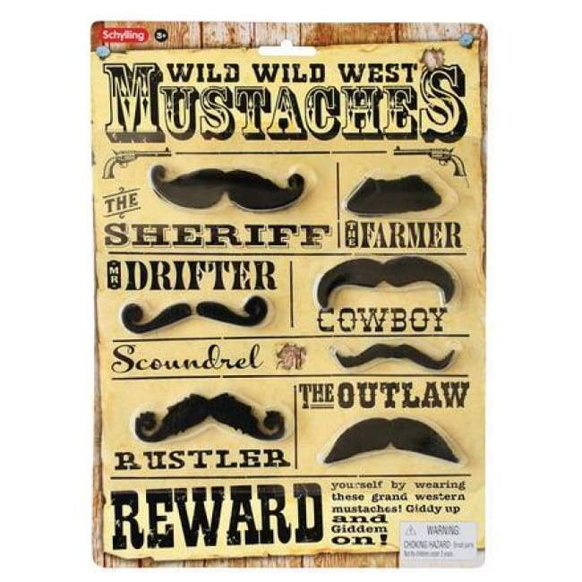Western Mustaches Toys $6.99