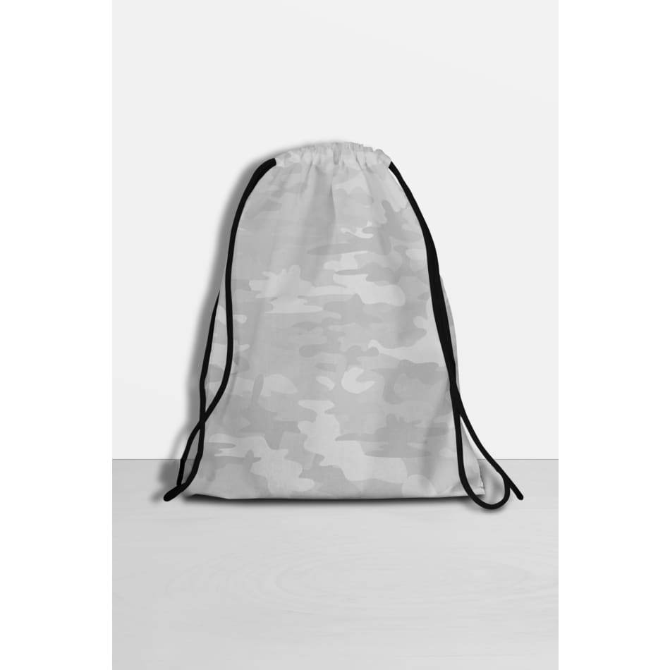 White Camo Drawstring Bag General Merchandise $49.99
