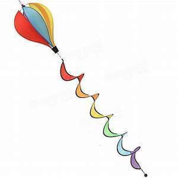 Windsock Balloon Rainbow 6 Pannels General Merchandise $19.99