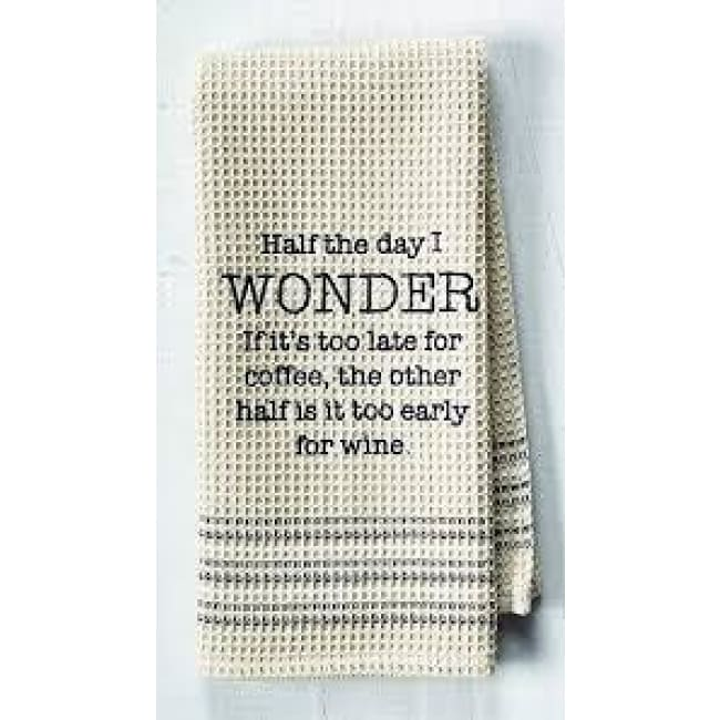 Wonder Dishtowel Novelty Gifts $12.99