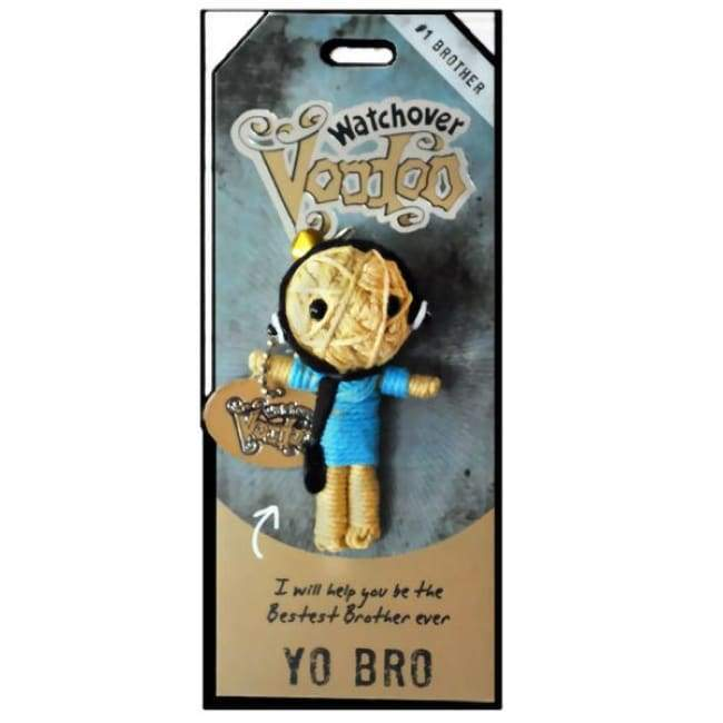 Yo Bro Watchover Voodoo Doll Gifts $10.99