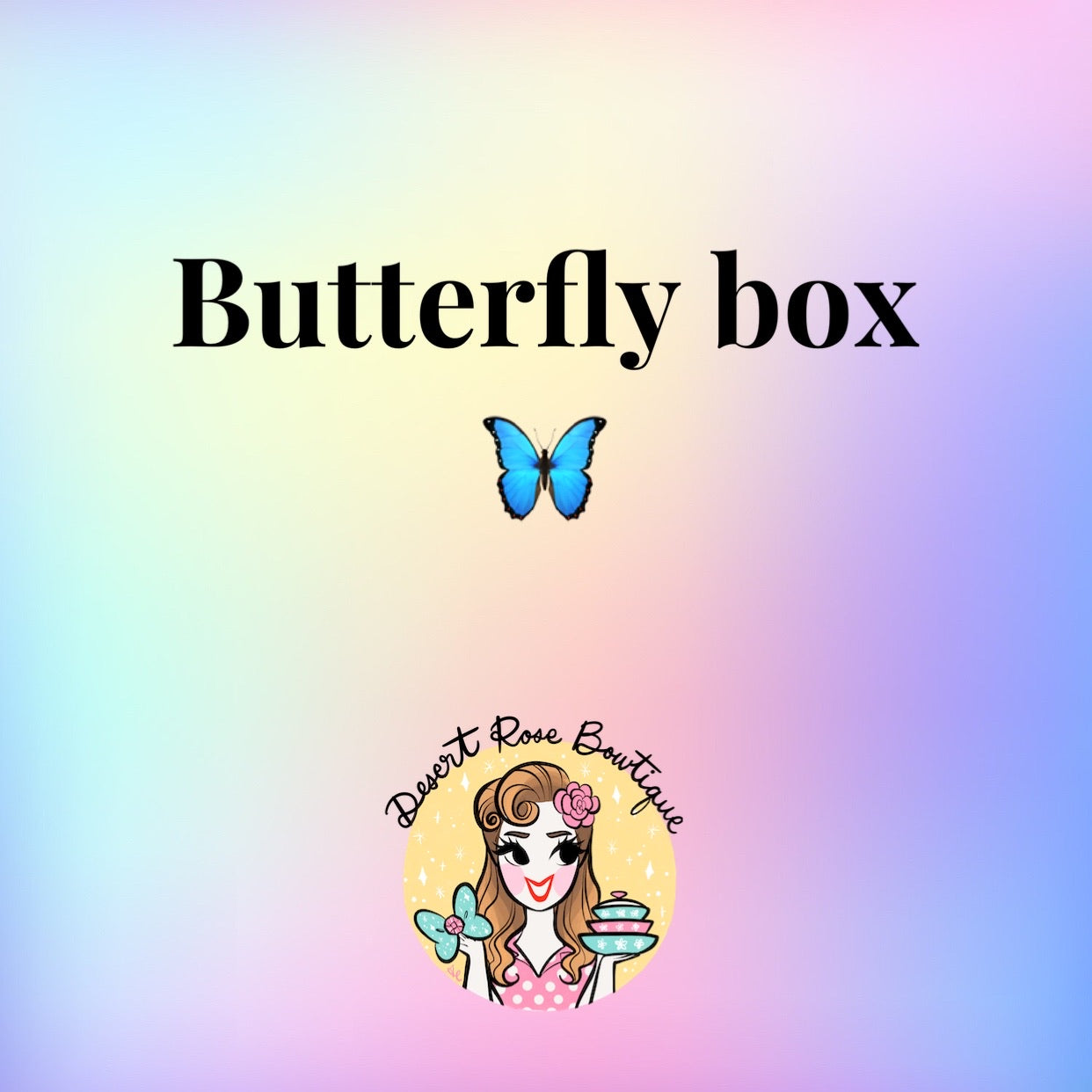Surprise Butterfly box