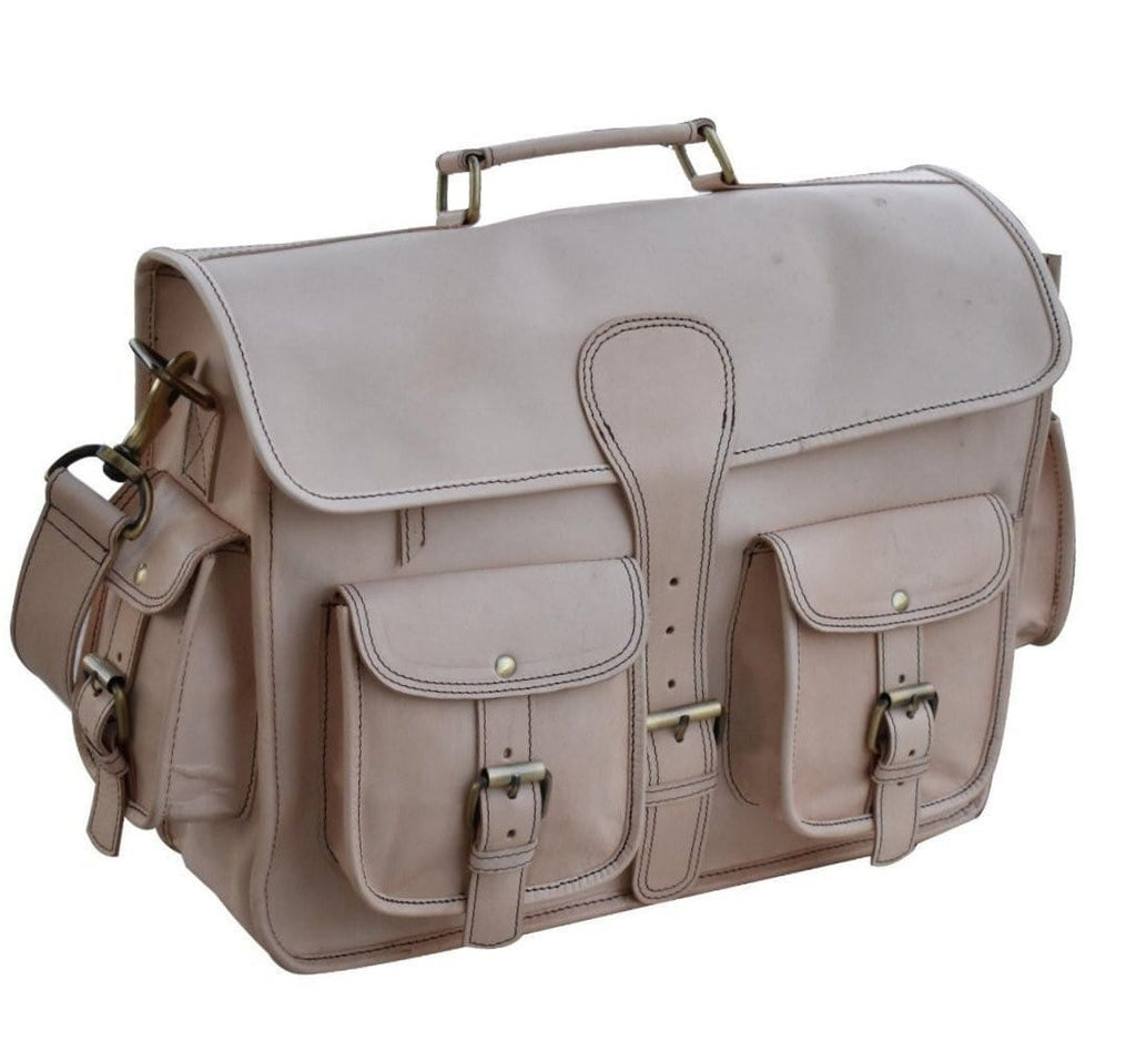 Cody Vintage Men's Leather messenger Satchel Bag