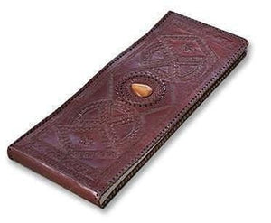 Vintage Leather Embossed Handmade Leather Photo Album - BohoEntice