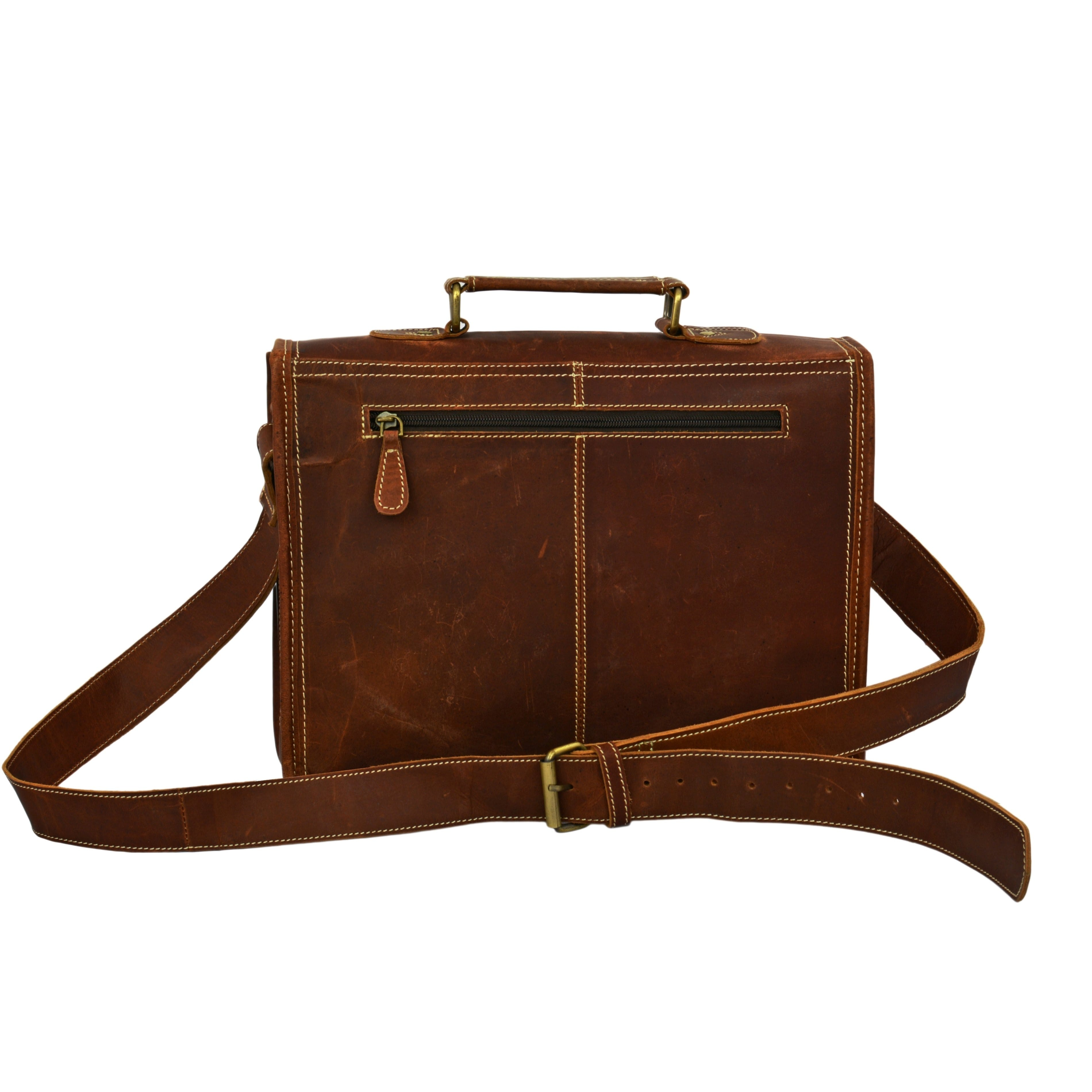 Logan Mens Crossbody Messenger bag - BohoEntice