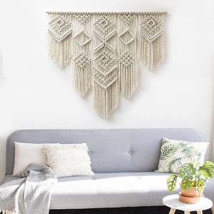 Beautiful Handmade Macrame wall hanging-Home decor accessories