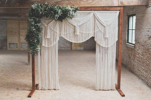 Macrame Wedding Backdrop-Macrame Curtains-Macrame wall Hanging