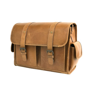 Genuine Leather DSLR SLR Camera Bag
