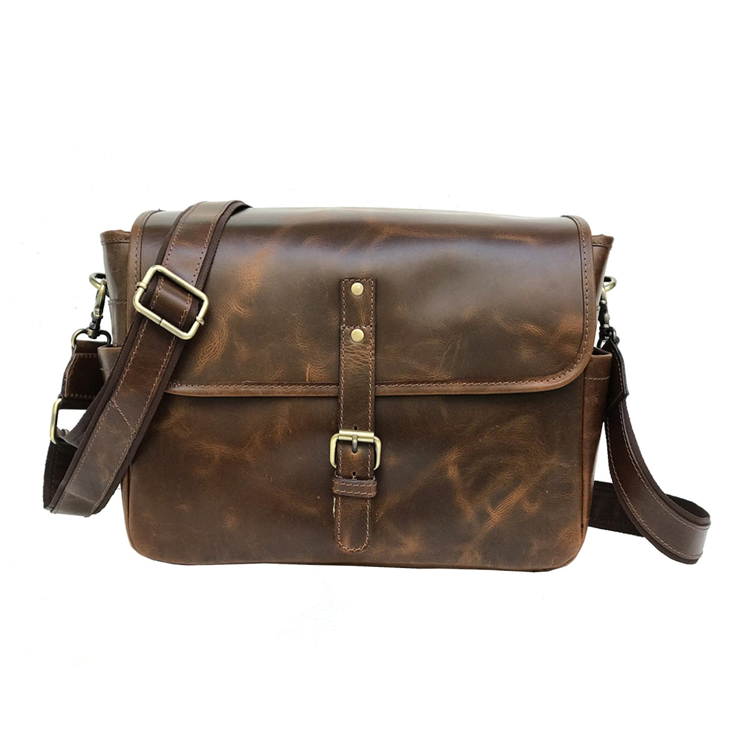 Genuine Leather Handmade DSLR SLR Camera Bag