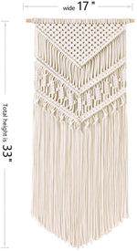 Wall Decor Macrame Hanging Tapestry BOHO Handmade Cotton Woven Home Decoration