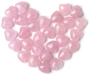 Natural Healing Crystal Rose Quartz Heart Love Worry - BohoEntice