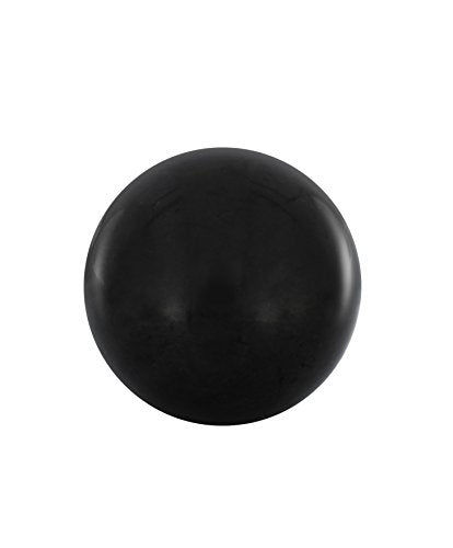 Shungite Sphere 2.75 Inches, Contains Fullerenes for EMF Protection | - BohoEntice