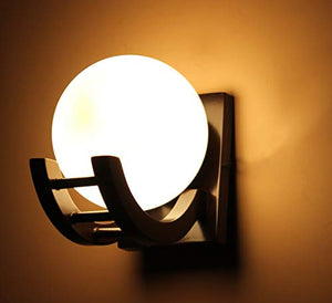 Wooden Wall Light/Wall Hanging Lamp for Bedroom, Living Room, Home Decor - BohoEntice