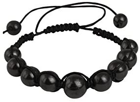 Shungite Bracelet for Men and Women, EMF Protection - BohoEntice