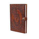 Lord Krishna Refillable Personalise Leather Journal - BohoEntice