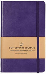 Dotted Grid Notebook/Journal - Dot Grid Hard Cover Notebook