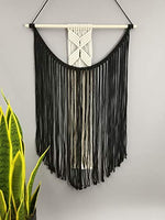Boho Handmade Macrame Wall Hanging Bedroom Tapestry,15.7 x 27.5 Inches, - BohoEntice
