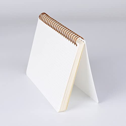 (2-Pack) A5 Dot Grid Notebook 100gsm Spiral Journal