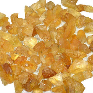 Natural Citrine Rough Stone Raw Stone Crystal Rough Stones - BohoEntice