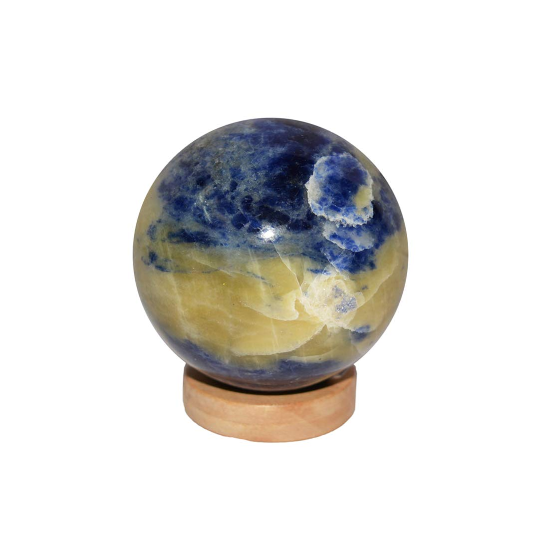 Lace Agate Ball/Sphere for Reiki Healing  Stone Ball - BohoEntice