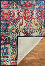 Vintage Persian Carpet with Anti Slip Backing for Bedroom/Living Area/Home - BohoEntice