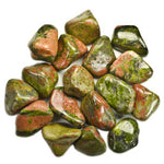 Materials: 1/2 lb Bulk Tumbled Unakite Stones - Natural Polished Gemstone Supplies for  Wicca, Reiki, and Energy Crystal Healing - BohoEntice