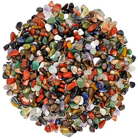 "Copy of 18 lbs Rare Assorted Stone Mix from Africa - XXX Small - 0.25"" to 0.40"" - Bulk Polished Gemstone Rock Supplies for Crafts, Reiki, Crystal Healing and More!: - BohoEntice"