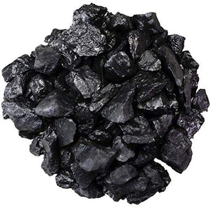 Gems Materials: 1/2 lb Shungite Stones for Water Purification - 1-2 cm Size - Bulk Rough Natural Raw Shungite from Russia for Wicca, Reiki, and Energy Crystal Healing - BohoEntice