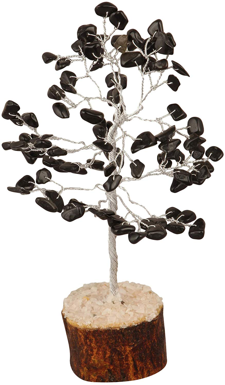 Black Tourmaline Gemstone Money Tree - BohoEntice