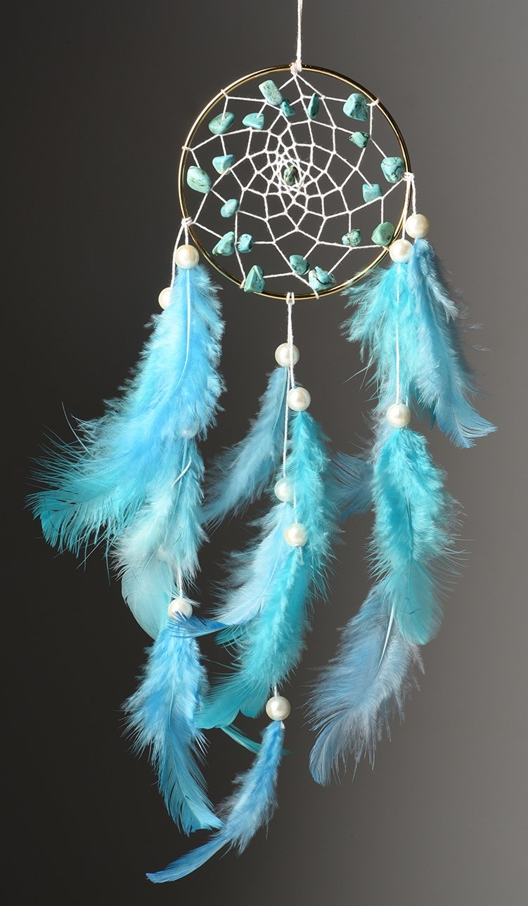 Tibetan Brass Dream Catcher - BohoEntice