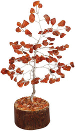 Carnelian Gemstone Money Tree - BohoEntice