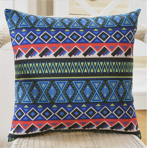 Velvet Decorative Throw Pillow/Cushion Covers (Multicolor) Set of 5 - BohoEntice
