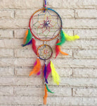 Handcrafted Multicolor Dream Catcher for Positive Energy - BohoEntice