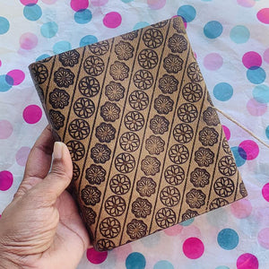 Brown Leather Small Elephant Leather Journal - BohoEntice