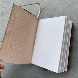 Handmade Buddha Antique Style Leather Journal - BohoEntice