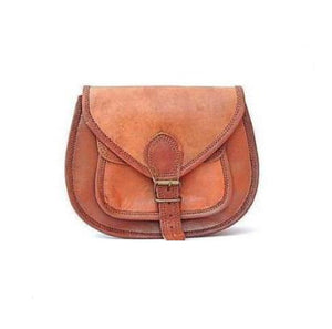 Diana Retro Brown Sling Tote Bag - BohoEntice