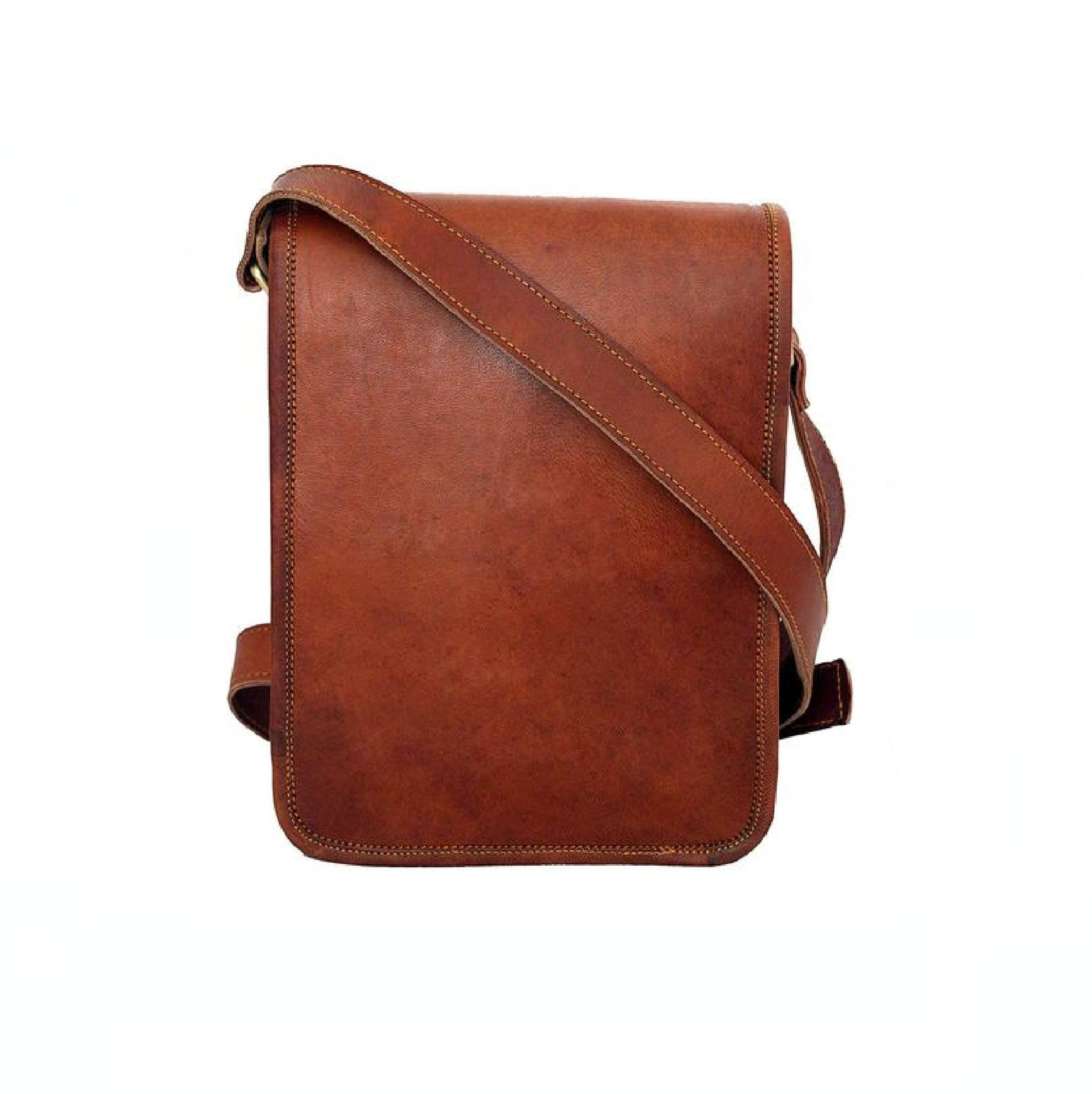 Kyle Retro Brown Sling Bag - BohoEntice