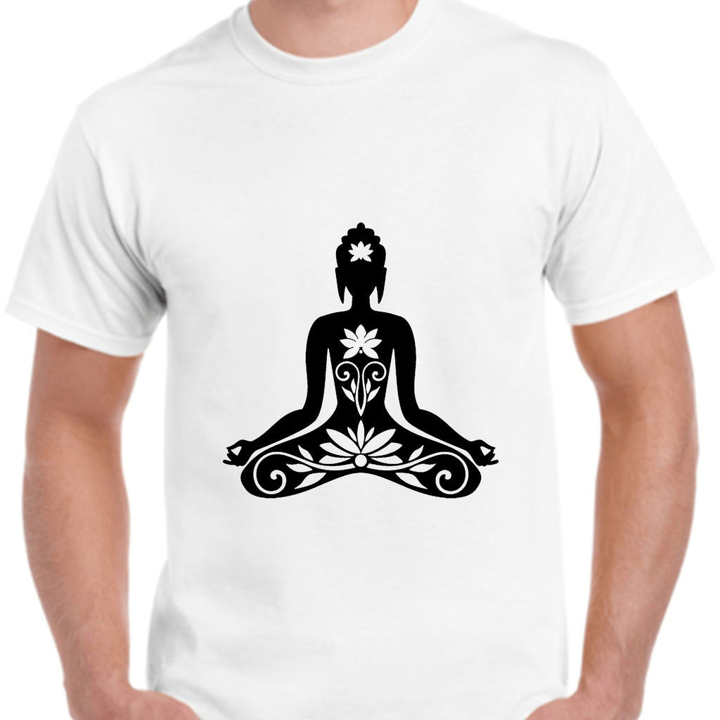 Buddha Meditation T-Shirt Printable Digital Download - BohoEntice