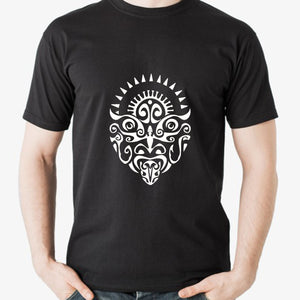 Boho Trible Face Design T-Shirt Printable Digital Download - BohoEntice