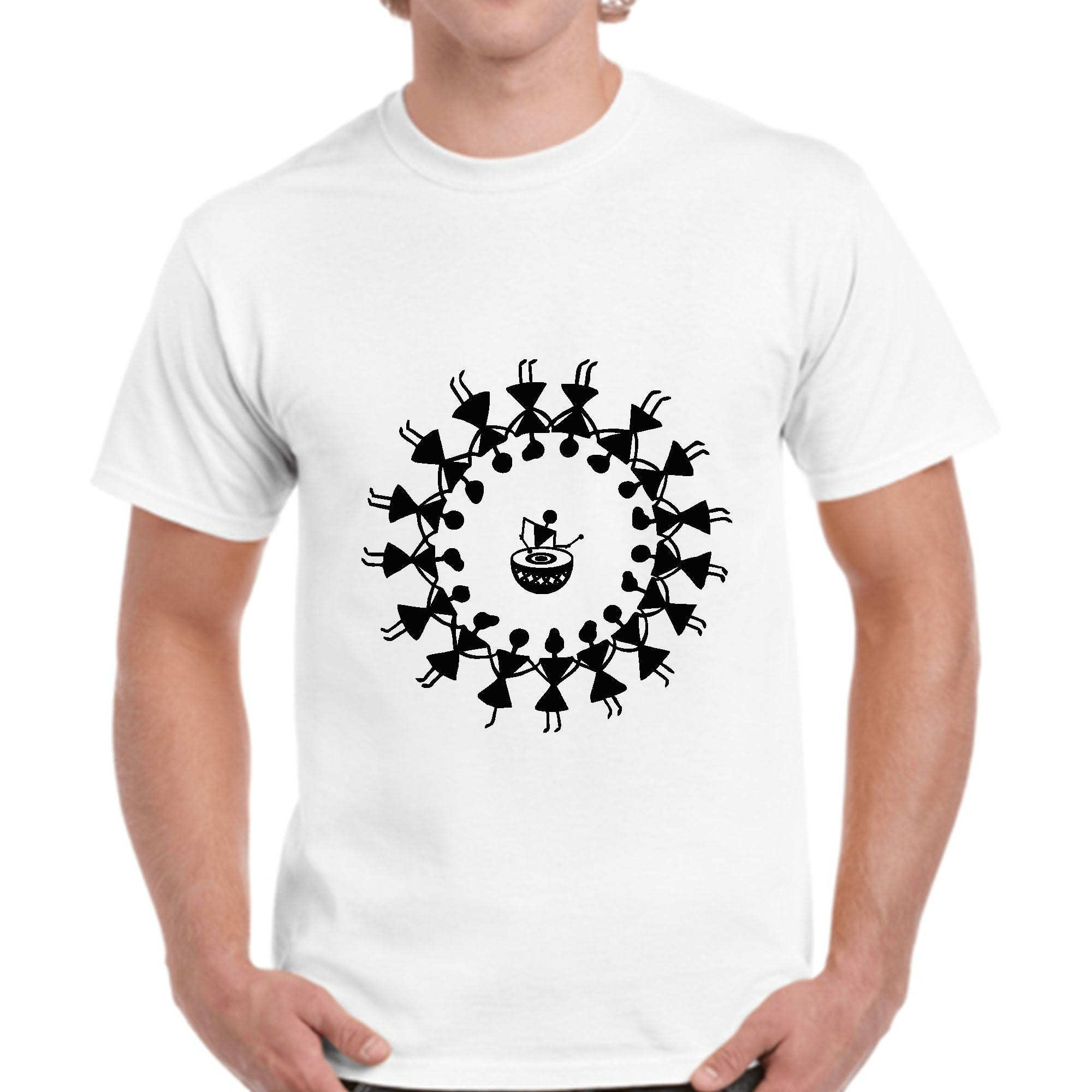 Beautiful Circle Design T-Shirt Printable Digital Download - BohoEntice