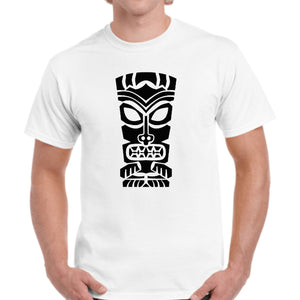 Hawaiian Tiki Mask T-Shirt Printable Digital Download - BohoEntice