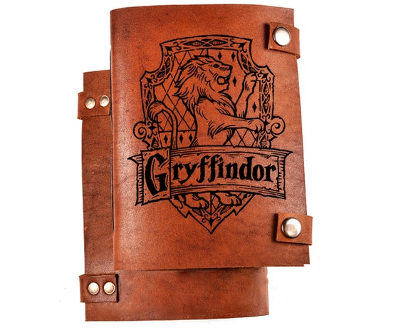 Harry Potter Personalize Leather Journal - BohoEntice