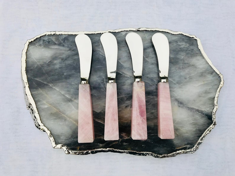 Set of 4 Cheese Spreaders - BohoEntice